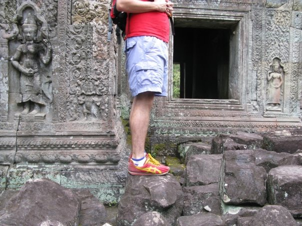 Exploring Cambodia's Ancient Temples at Angkor Watt in Siem Reap