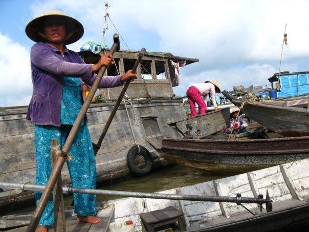 Adventuring Through Magical Floating Markets in Vietnam's Mekong Delta