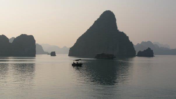 Travel to Halong Bay, Vietnam