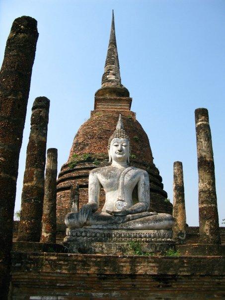 Travel to Sukothai, Thailand