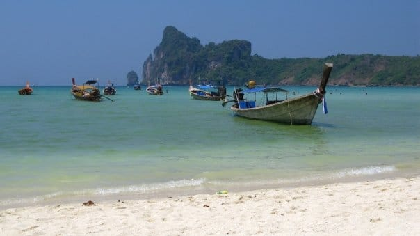 Travel to Ko Phi Phi, Thailand