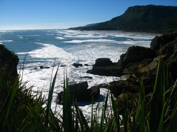 Driving New Zealand's South Island's West Coast