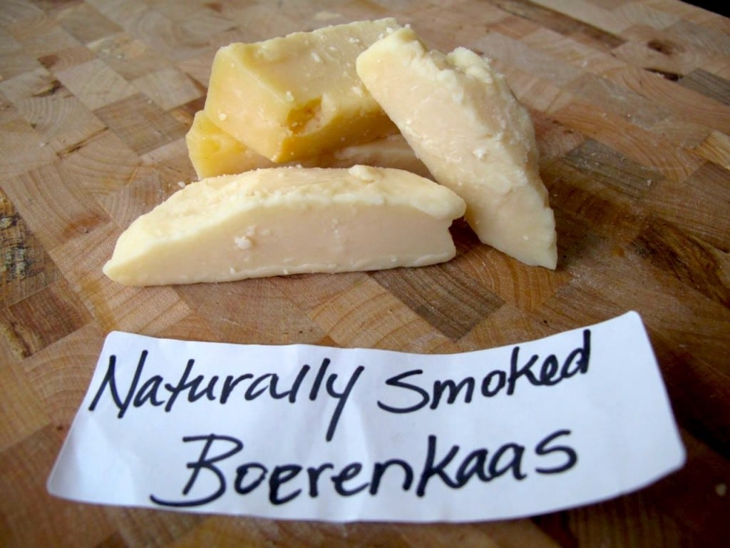 Cheese: Smoked Boerenkaas