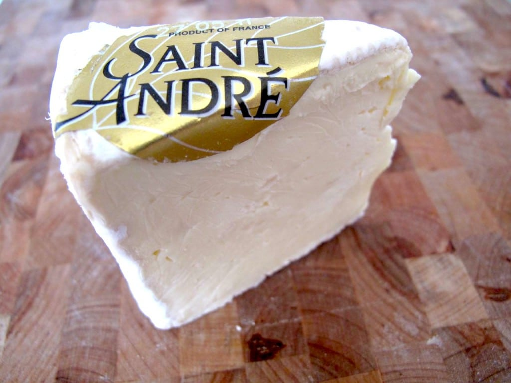 Cheese: St. Andre Triple Cream Brie