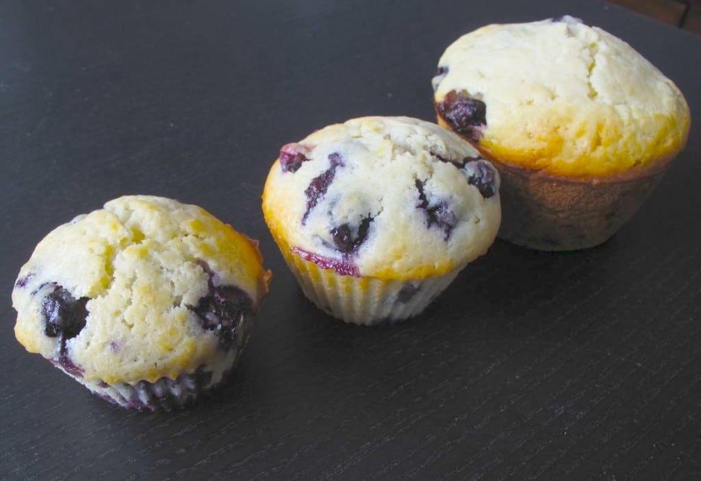 Moms Healthy Lemon Blueberry Muffins are a family favourite.