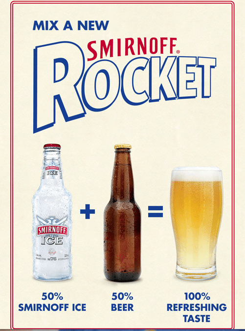 How To Make A Smirnoff Rocket