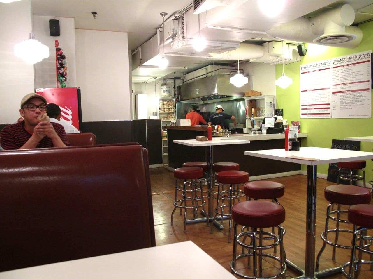 Great Burger Kitchen is one of the most popular burger restaurants in Toronto.