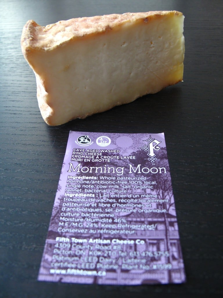 Morning Moon: Fifth Town Cheese in Prince Edward County