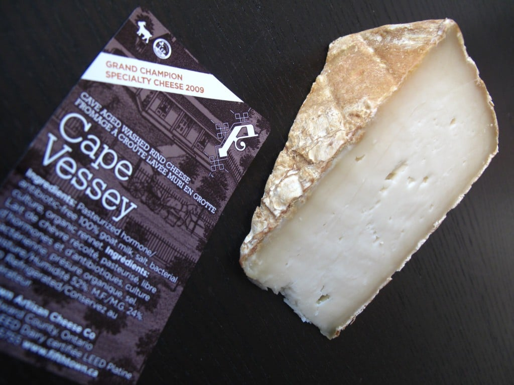 Cape Vessey: Fifth Town Cheese in Prince Edward County