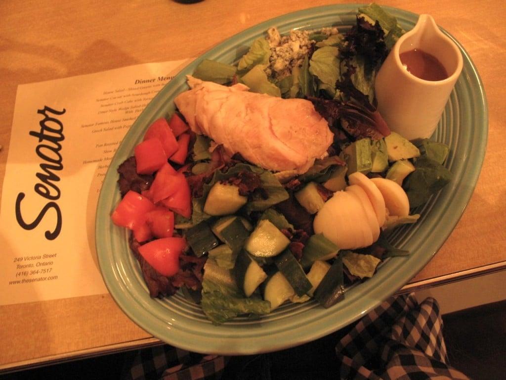 The Senator Diner at Dundas Square in Toronto