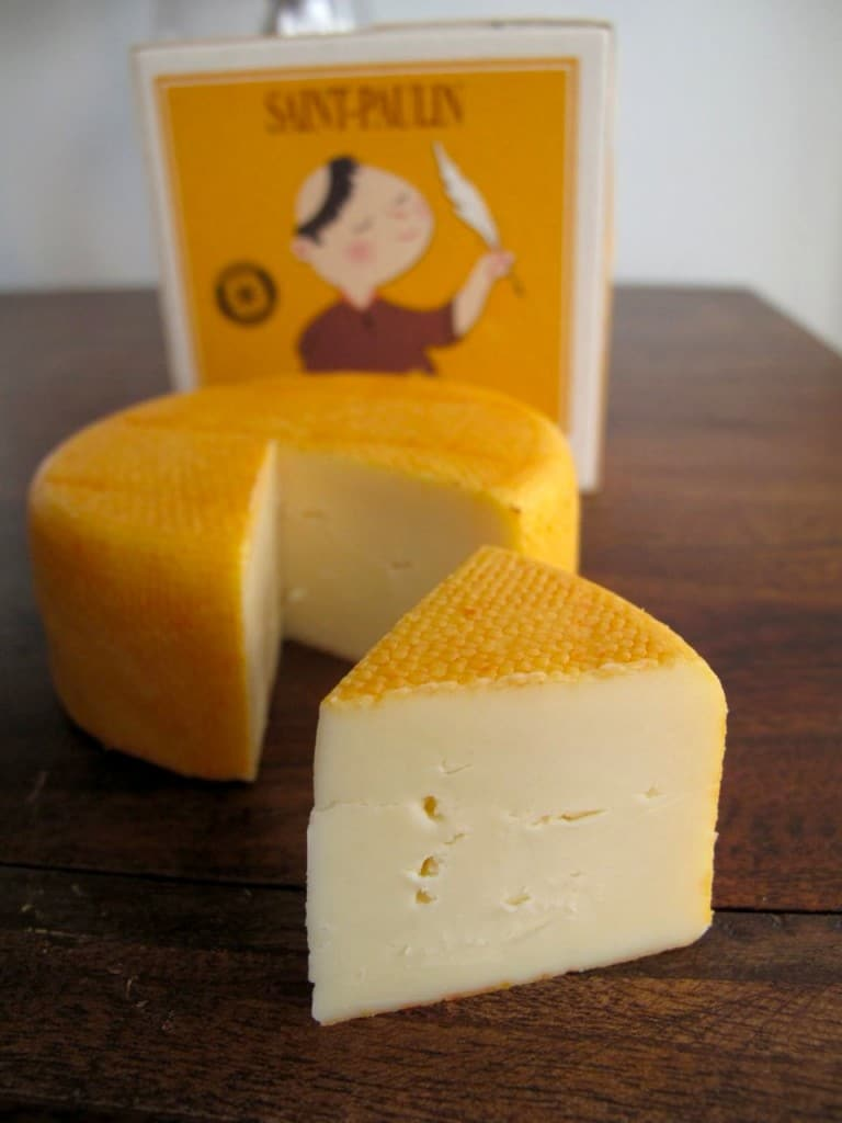 Saint Paulin French Cheese