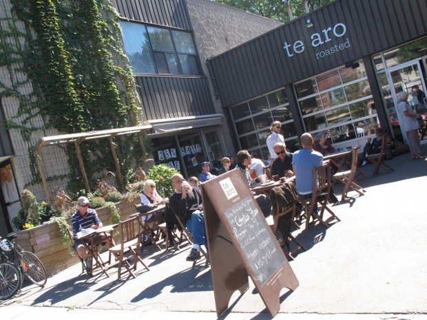 Te Aro Cafe in Leslieville