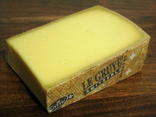 Gruyere Cheese From Switzerland