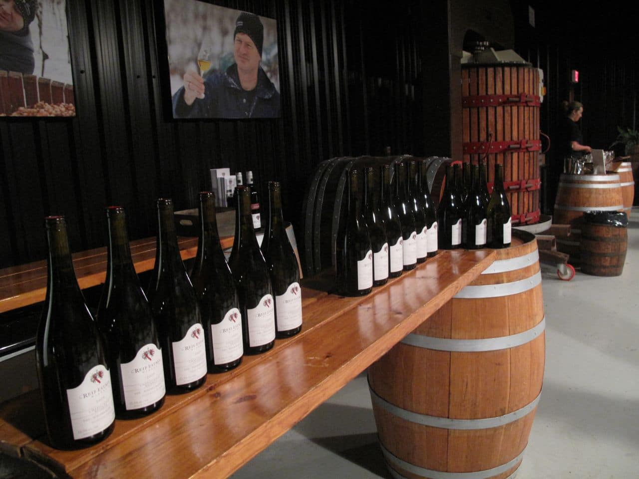 Reif Estate Winery pours award-winning German-inspired wines.