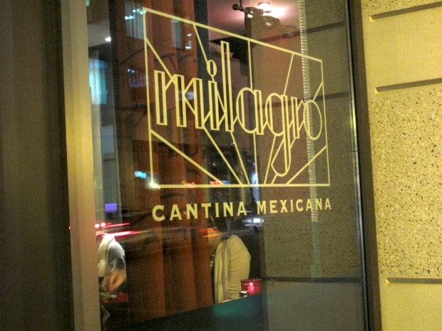 Mexican on King West at Milagro Toronto