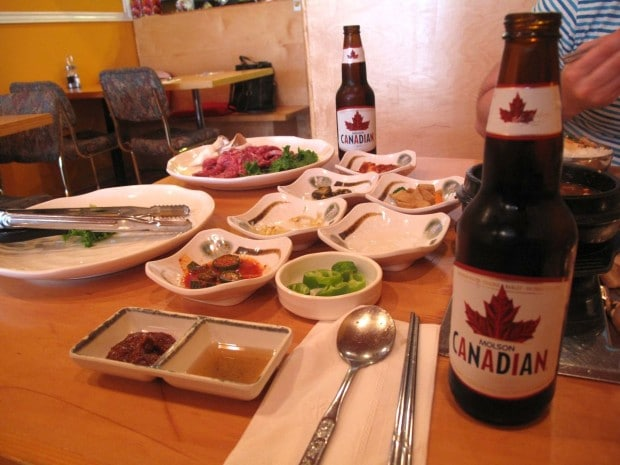 Korean BBQ at Charcoal and Salt in North York