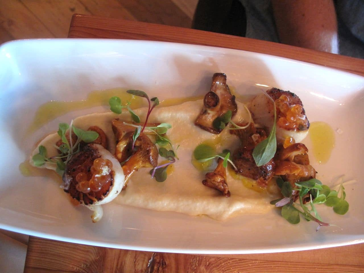 Bay of Fundy Scallops at Plank Oakville.