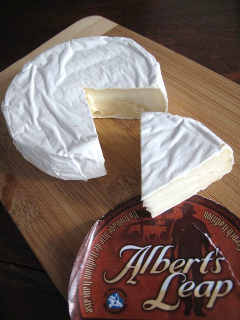 Alberts Leap Brie Cheese From Ontario