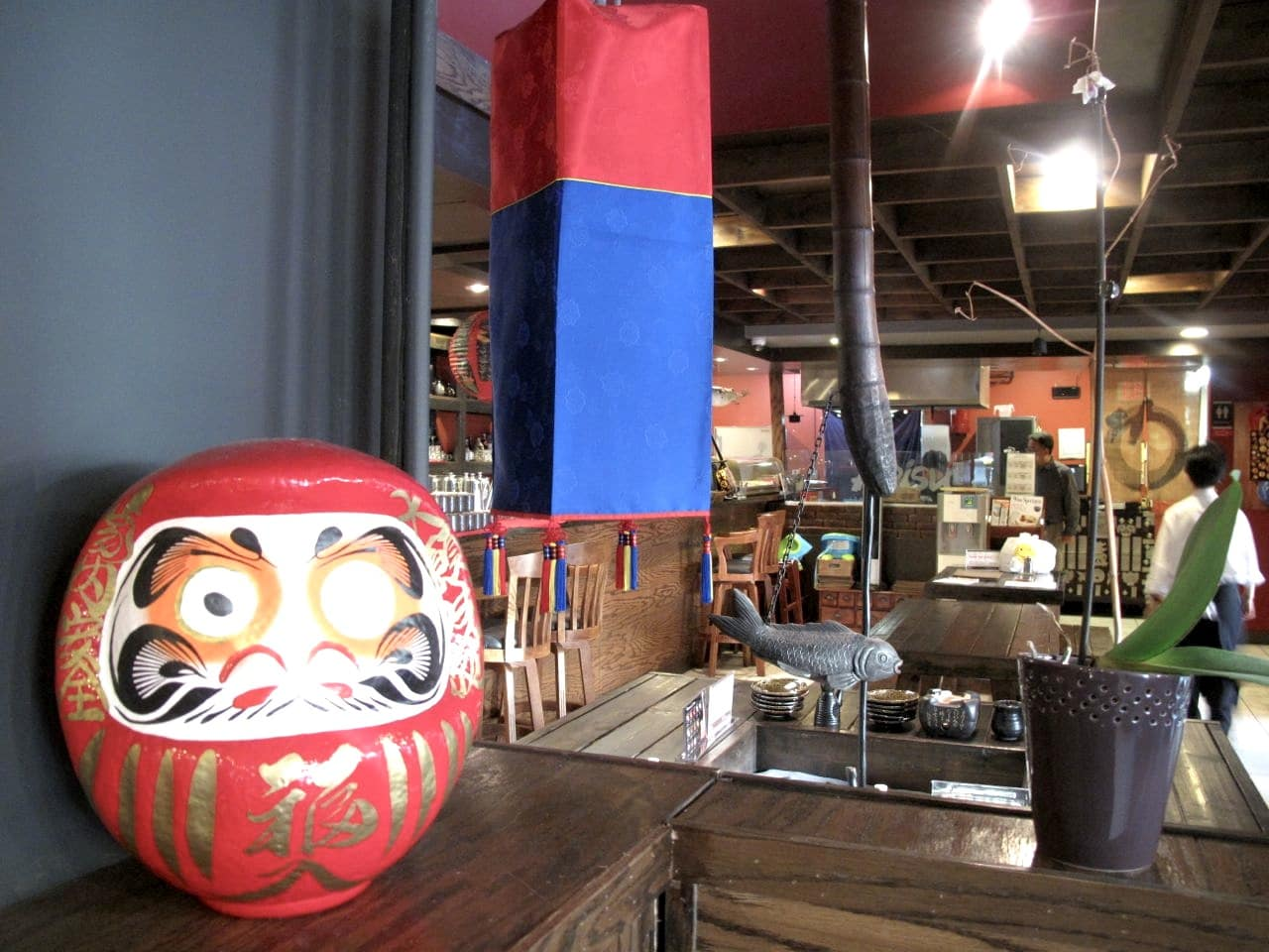 The dining room at Arisu Toronto.