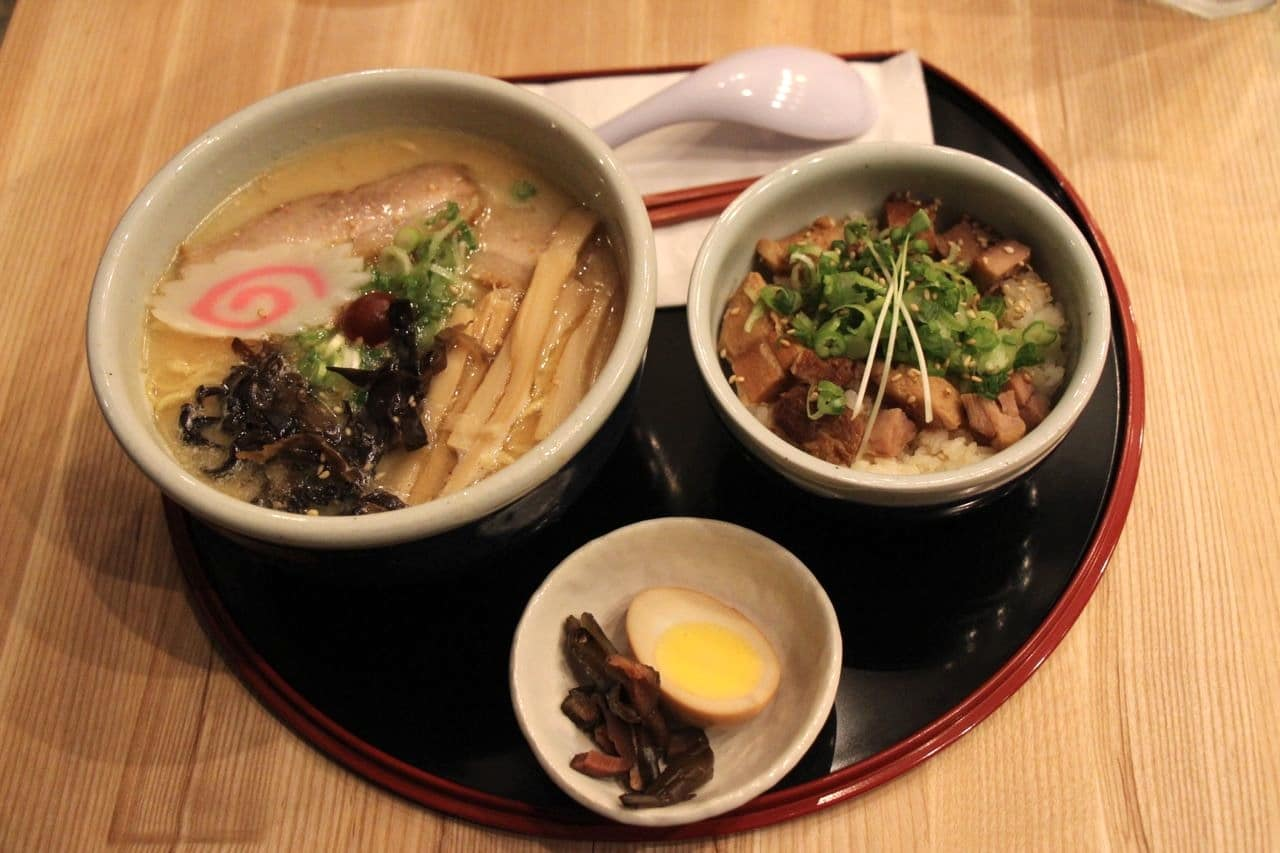 Santouka Ramen Toronto is one of the city's best restaurants for Japanese noodle soup.