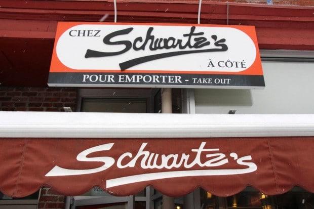 Schwartz's Deli in Montreal