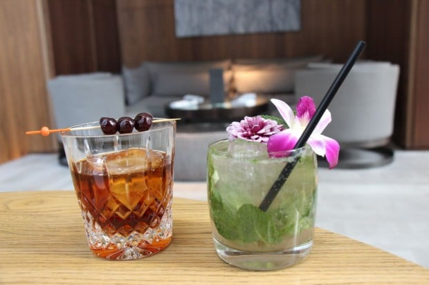 dbar at the Four Seasons Hotel Toronto in Yorkville