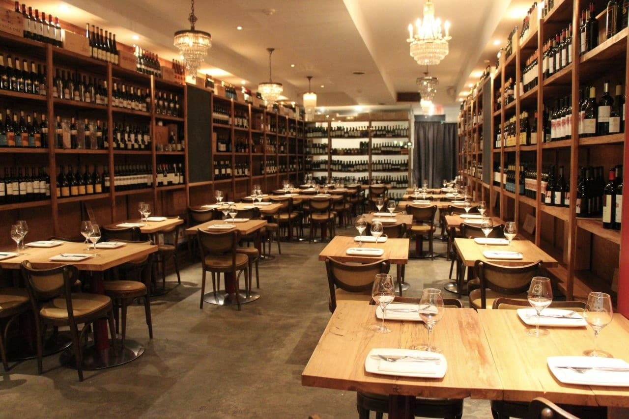 Salt Wine Bar offers dishes from Spain and Portugal.