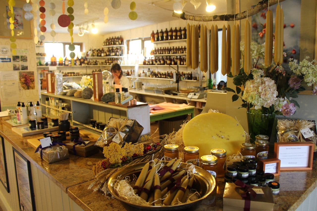 Ireland Road Trip: Beauty fans should pay a visit to Burren Perfumery on the Wild Atlantic Way.