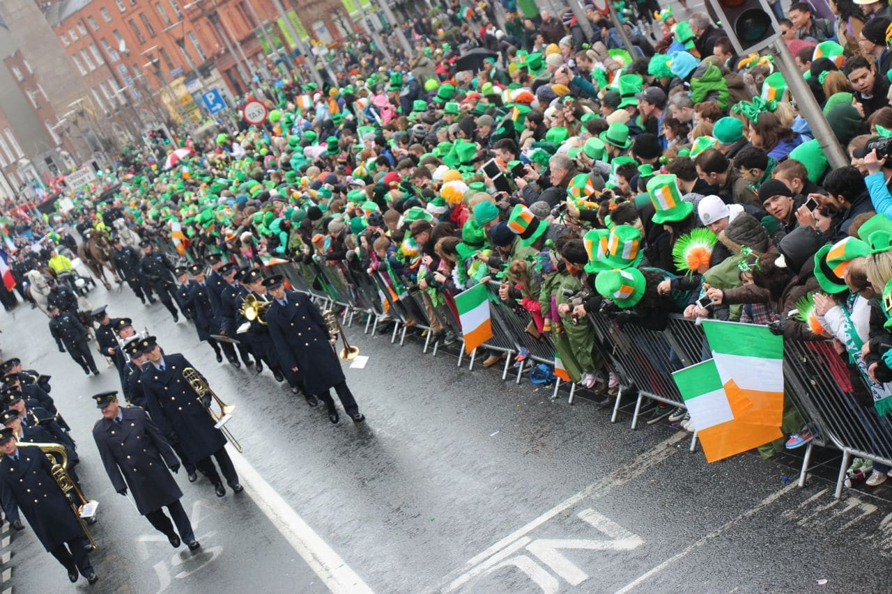 Start your Ireland Road Trip in Dublin. The Irish capital hosts the world's best St. Patrick's Day Parade!