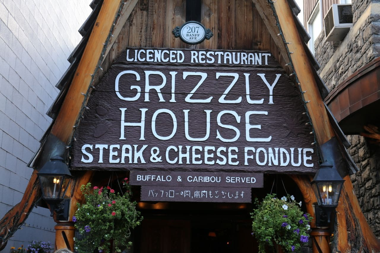 Step inside Grizzly House Banff.