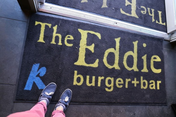 The Eddie Burger Bar in Banff