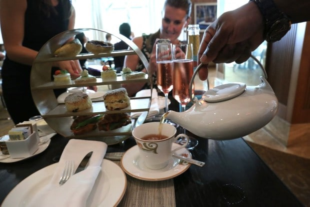Afternoon Tea at The Ritz Carlton Hotel Toronto