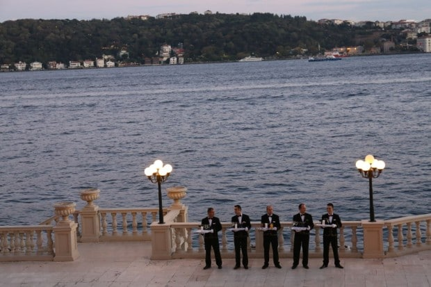 Tugra Restaurant at Ciragan Palace Kempinski Istanbul