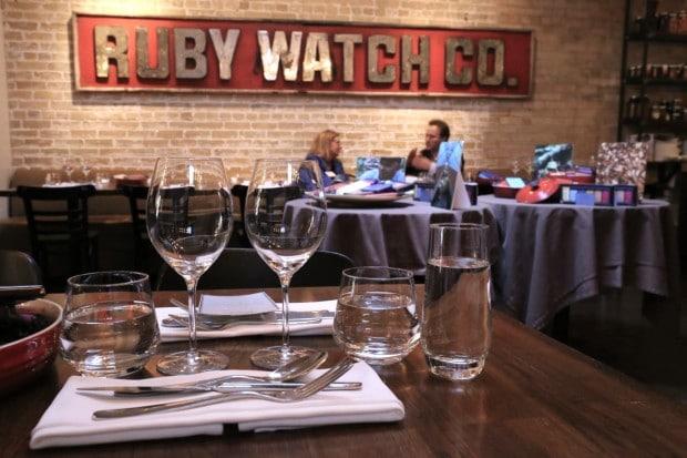 Ruby Watchco Restaurant in Toronto
