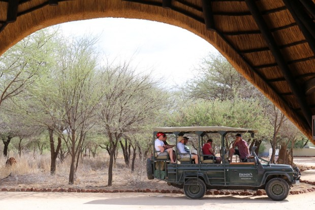 Etosha National Park and Erindi Private Game Reserve in Namibia