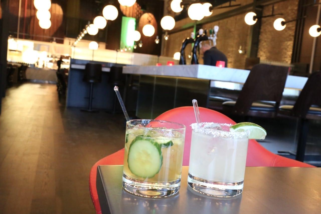 Craft cocktails at Carbon Bar Toronto.