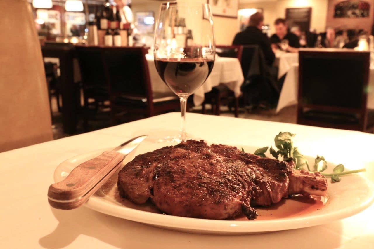 Morton's offers an old school American steakhouse vibe near the Park Hyatt in Yorkville.