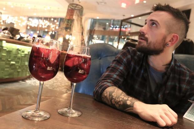 Sangria sips at Nando's Toronto.