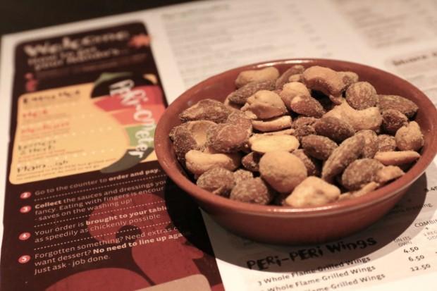 Nando Toronto's signature Peri Peri Nuts are perfect for snacking.