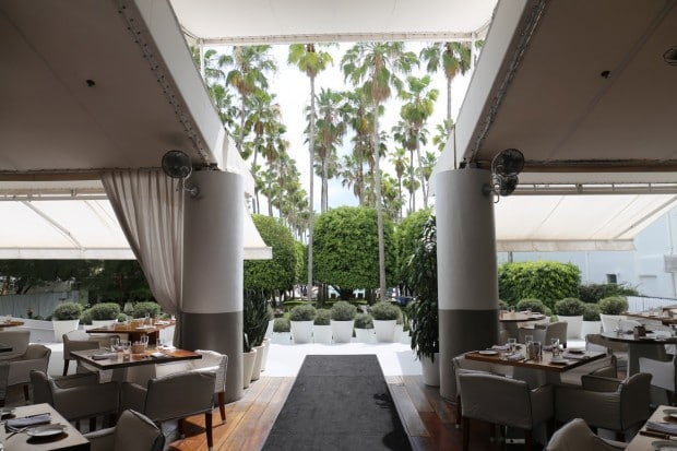 Bianca Restaurant at The Delano Hotel in Miami