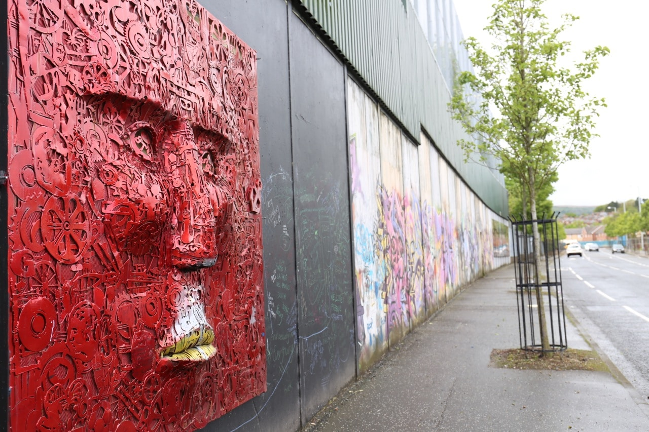 Things To Do in Belfast: enjoy a Black Cab Tour of the city's political murals.