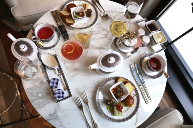 Afternoon Tea at the Langham Hotel Chicago