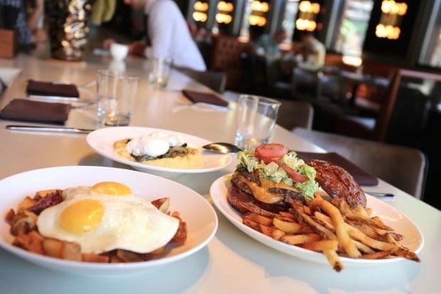 Brunch at Wood Restaurant in Chicago