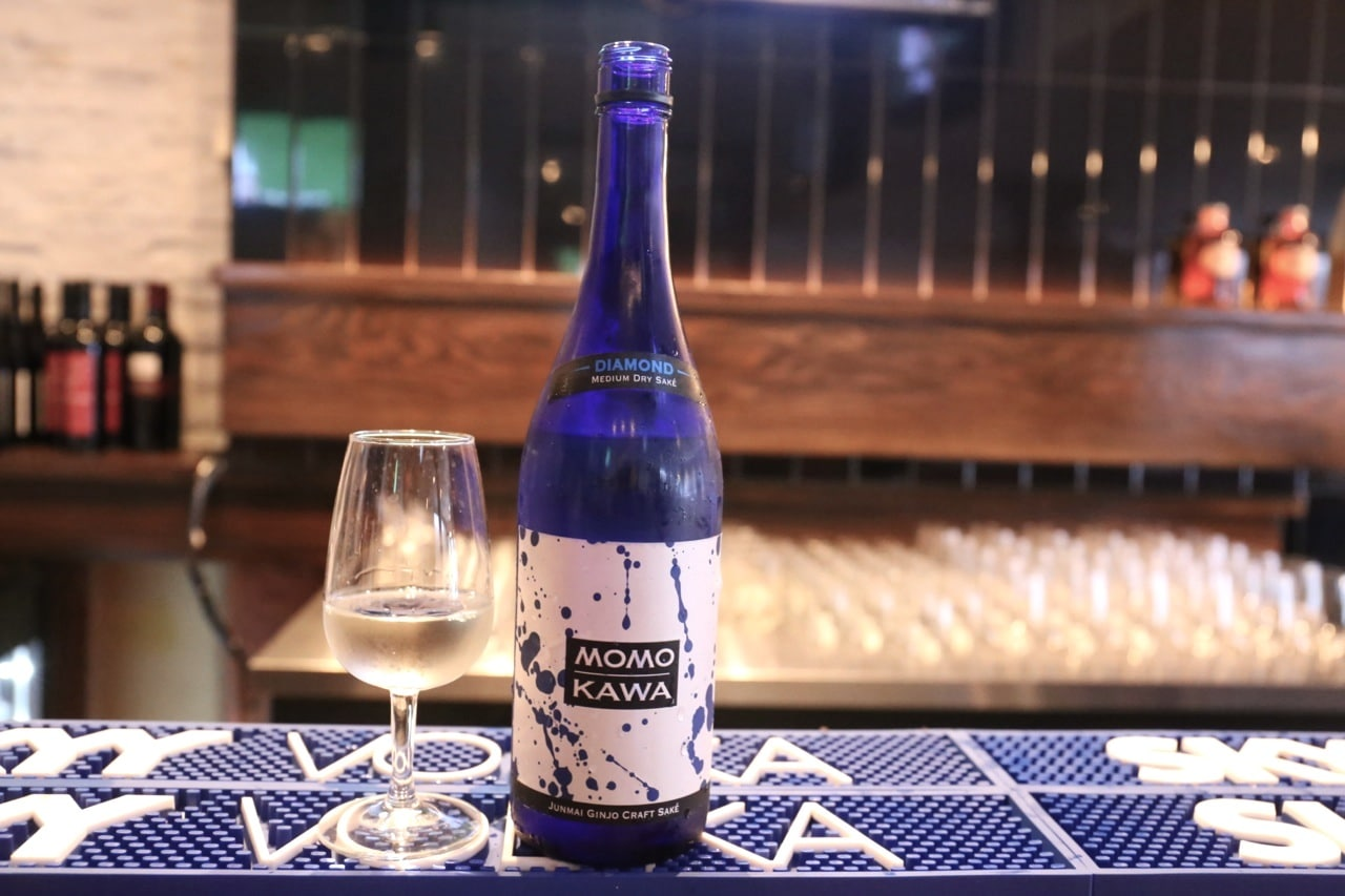 Sake sips at Hapa Izakaya Toronto in Little Italy.
