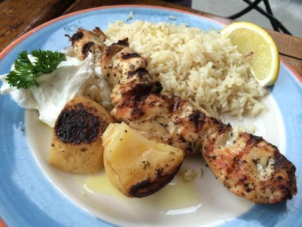 Mezes Greek Restaurant in Toronto
