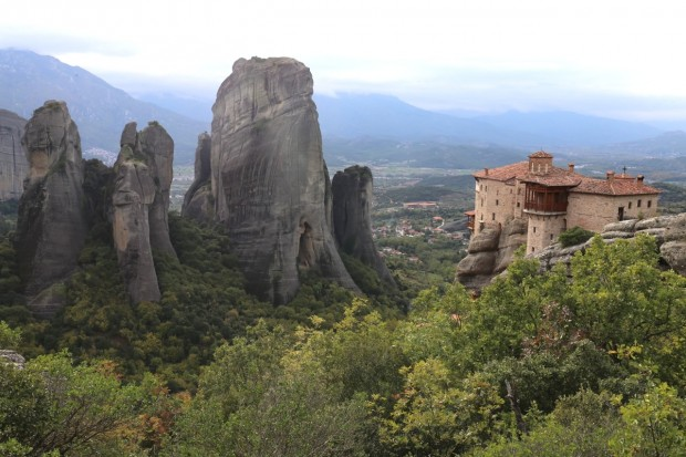 Marveling in the Mighty Monasteries of Meteora