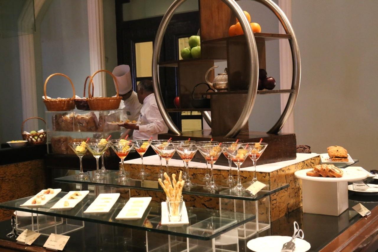 Buffet at Taj Mahal Palace Hotel Mumbai's High Tea.