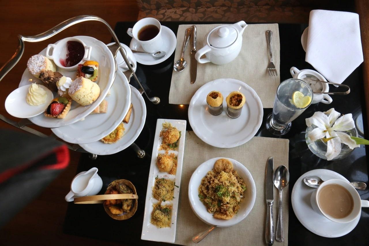High Tea at the Taj Mahal Palace Hotel Mumbai.