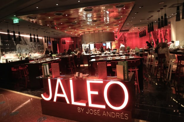 Jaleo Tapas Restaurant At The Cosmopolitan Las Vegas