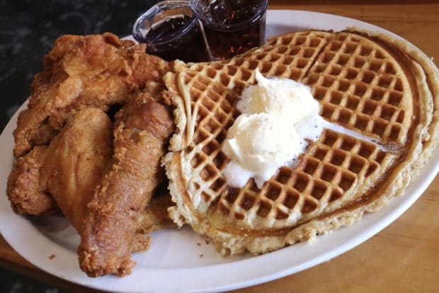 Kuzzo's Chicken and Waffles in Detroit